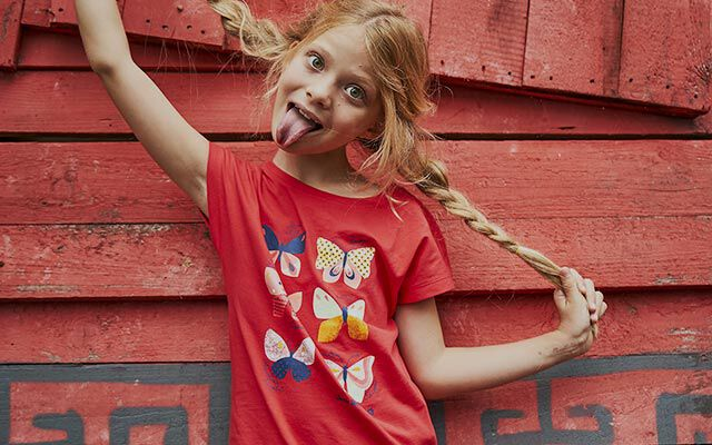 Enfants La mode pour l'été