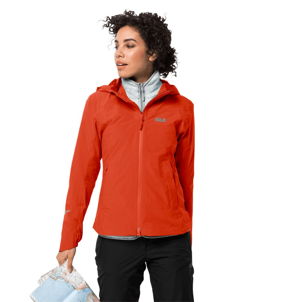 Veste hardshell femmes Atlas Tour Jacket Women L rouge wild brier
