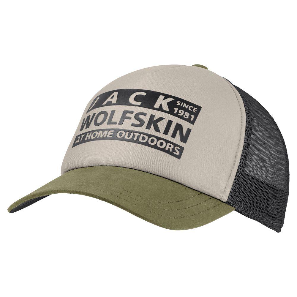 Jack Wolfskin Casquette de baseball Brand Mesh Cap one size gris light sand