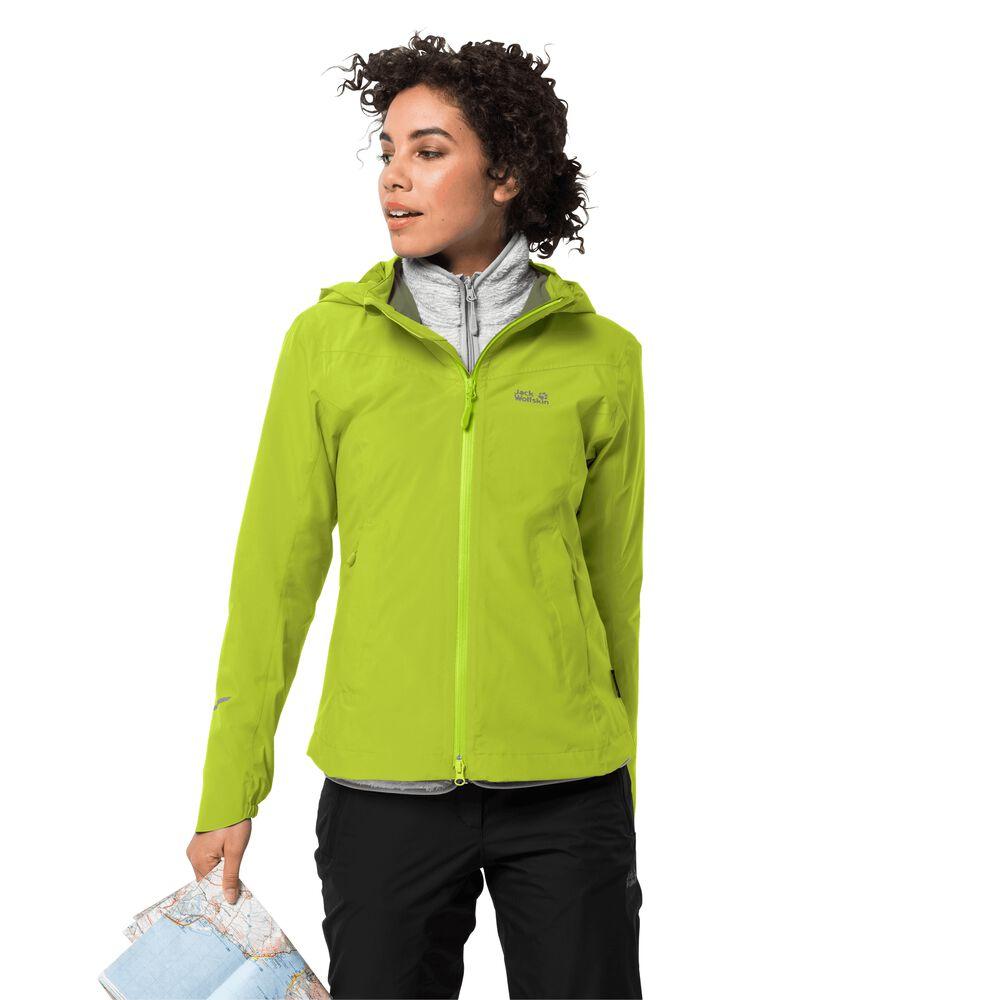 Veste hardshell femmes Atlas Tour Jacket Women L vert bright lime