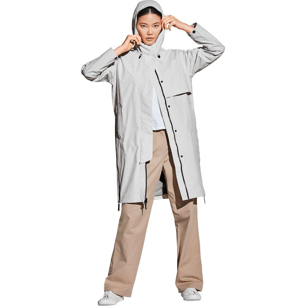 Manteau hardshell femmes Pretoria Coat Women M gris grey haze